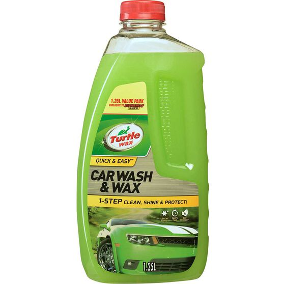 Turtle Wax Wash and Wax Exclusive - 1.25 Litre, , scanz_hi-res