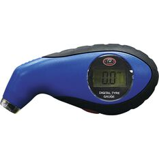 SCA Digital Tyre Gauge w / Light - 0-100 PSI, , scanz_hi-res