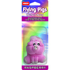Air Freshener Flying Pigs, Raspberry, , scanz_hi-res