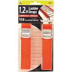 Gripwell Ladder Strap - 1.2m, 113kg, 2 Pack, , scanz_hi-res