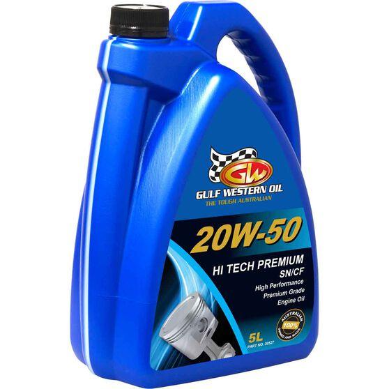 Gulf Western Hi Tech Premium Engine Oil - 20W-50, 5 Litre, , scanz_hi-res