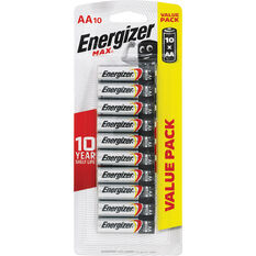 Energizer Max AA Batteries - 10 Pack, , scanz_hi-res