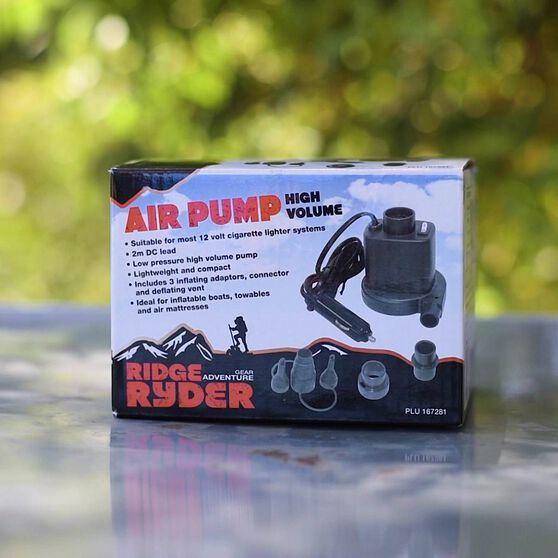 Ridge Ryder High Volume Inflator / Deflator Pump - 12V, , scanz_hi-res