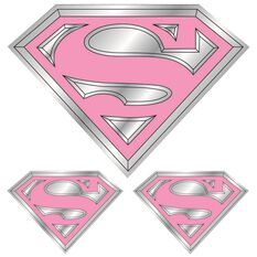Hot Stuff Sticker - Supergirl, Chrome, , scanz_hi-res