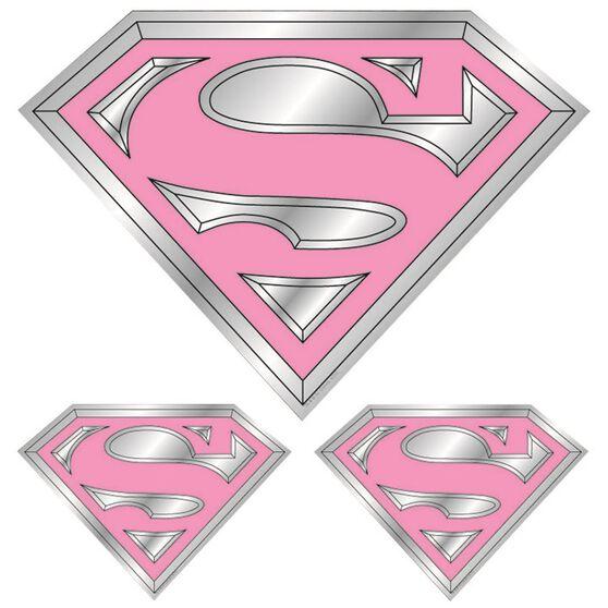 Hot Stuff Sticker - Supergirl, Chrome, , scanz_hi-res