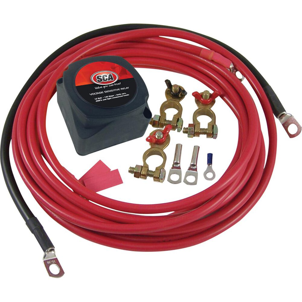 Sca Dual Battery Isolator Kit 12 Volt Supercheap Auto New Zealand Daul Wiring Diagram For Subs Scanz Hi Res