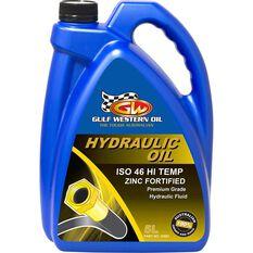Gulf Western Hi Temp Superdraulic Hydraulic Oil ISO 46 5 Litre, , scanz_hi-res