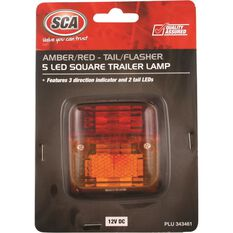 SCA Trailer Lamp - LED, Square, Combination, , scanz_hi-res