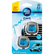 Ambi Pur Mini Air Freshener - Sky Breeze, 2 Pack, , scanz_hi-res