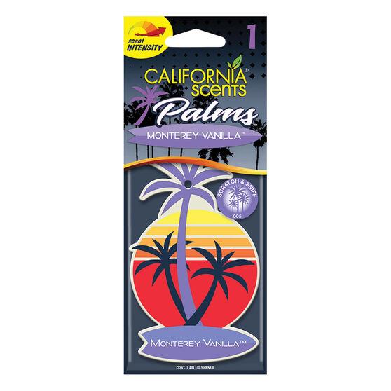 California Scents Palms Air Freshener Monterey Vanilla, , scanz_hi-res