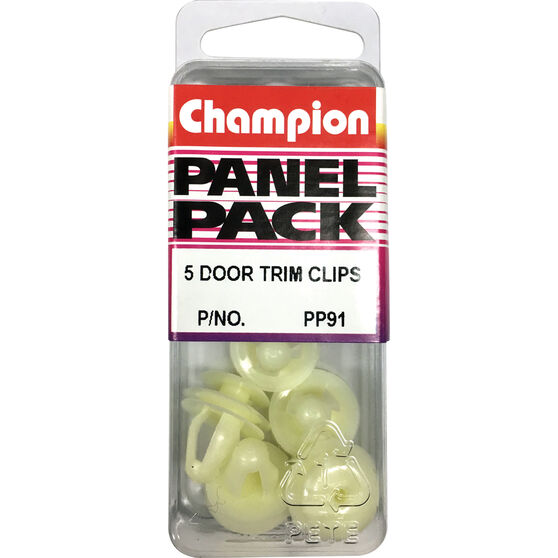 Champion Door Trim Clips - PP91, Panel Pack, , scanz_hi-res