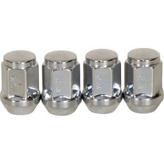 Calibre Wheel Nuts, Tapered, Chrome - SN716, 7 / 16inch, , scanz_hi-res