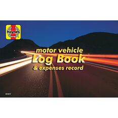 Haynes Log book and Vehicle Expenses - 01417, , scanz_hi-res