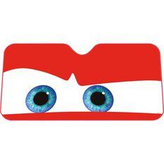 Red Eyes Sunshade - Fashion, 68x146cm, Accordian, Front, , scanz_hi-res