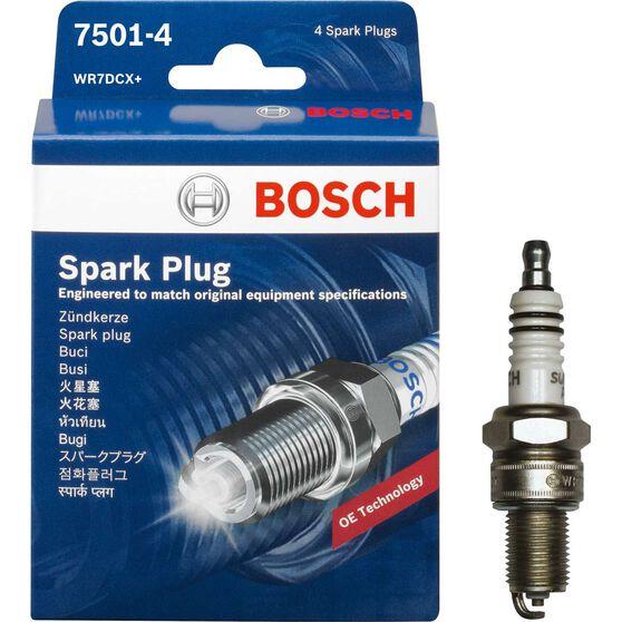 Bosch Spark Plug - 7501-4, 4 Pack, , scanz_hi-res