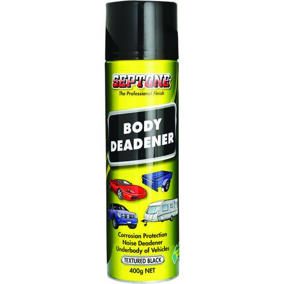 Septone Body Deadener Paint Black 400g, , scanz_hi-res