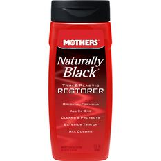 Mothers Naturally Black Trim & Plastic Restorer - 355mL, , scanz_hi-res