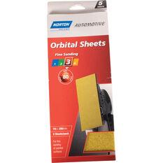 Norton Orbital Sheet - 80 Grit, 5 Pack, , scanz_hi-res