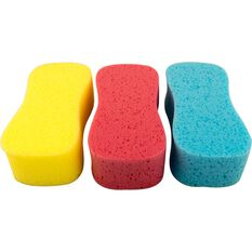 SCA Coloured Jumbo Sponge - 3 Pack, , scanz_hi-res
