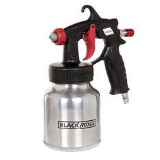 Blackridge Low Pressure Spray Gun - 600mL, , scanz_hi-res