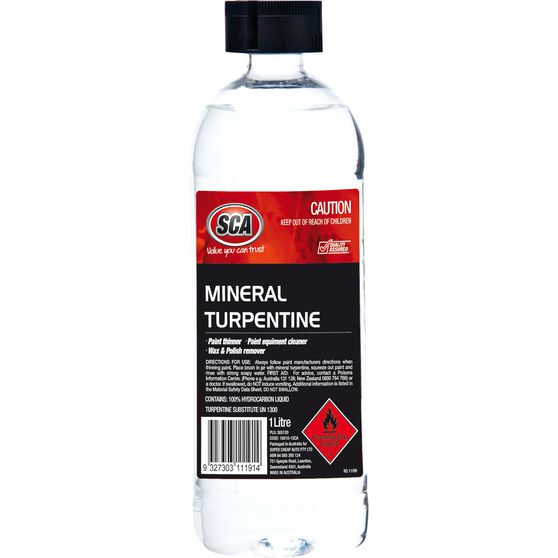 SCA Mineral Turpentine - 1 Litre, , scanz_hi-res
