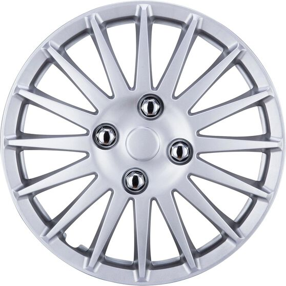 """SCA Wheel Covers - Turbine Silver 13"""" Set of 4, , scanz_hi-res"""