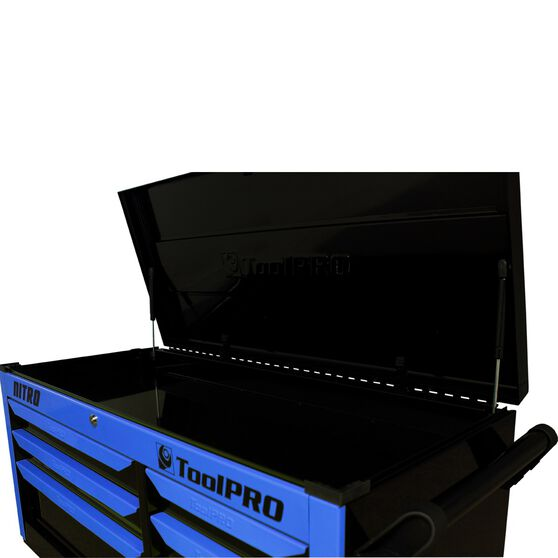 ToolPRO Neon Tool Cabinet, 6 Drawer, Top Chest - Nitro 42 inch, , scanz_hi-res