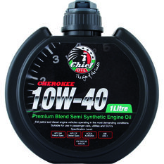 Chief Cherokee Engine Oil - 10W-40 1 Litre, , scanz_hi-res