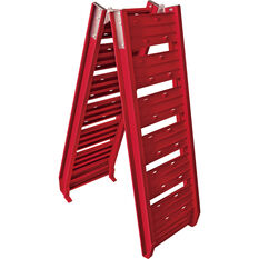 SCA Loading Ramp Aluminium Red Single 220kg, , scanz_hi-res