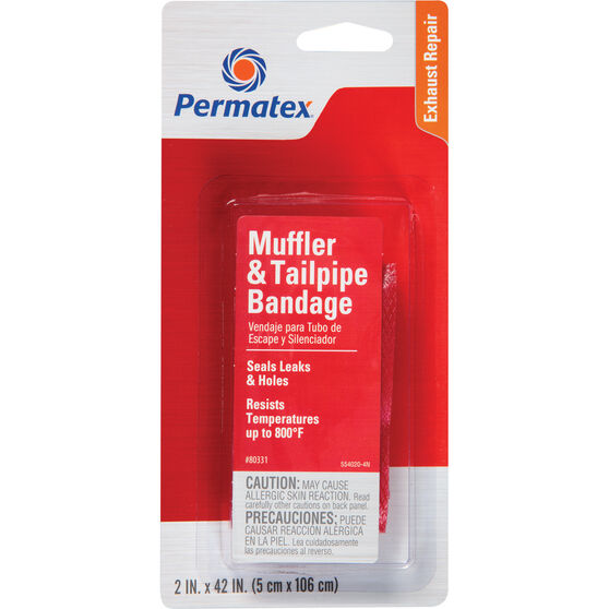 Permatex Muffler and Tailpipe Bandage - 5 x 106cm, , scanz_hi-res