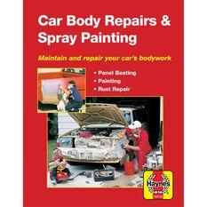 Haynes Manuals Car Body Repairs and Spray Painting, , scanz_hi-res