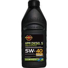 Penrite HPR Diesel 5 Engine Oil 5W-40 1 Litre, , scanz_hi-res
