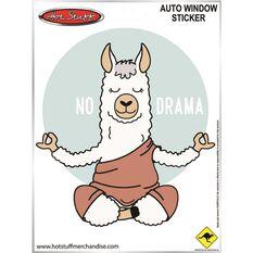 Sticker No Drama Llama SH8891, , scanz_hi-res
