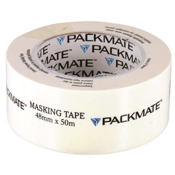 Packmate Masking Tap - 48mm x 50m, , scanz_hi-res