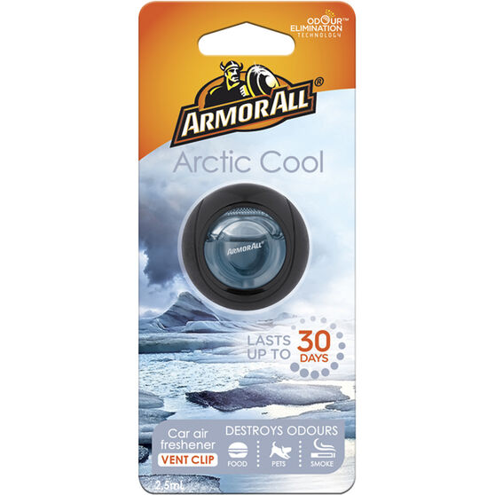 Armor All Vent Air Freshener - Arctic Cool, 2.5mL, , scanz_hi-res