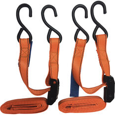 SCA Cambuckle Tie Down - 2.4m, 320kg, 2 Pack, , scanz_hi-res