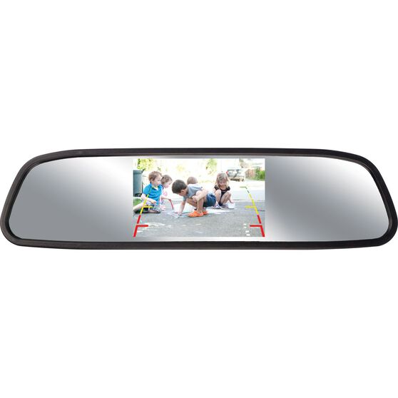 NanoCam Plus Rear View Mirrorand Camera Kit - Wired, 4.3inch, NCP-MIR43, , scanz_hi-res