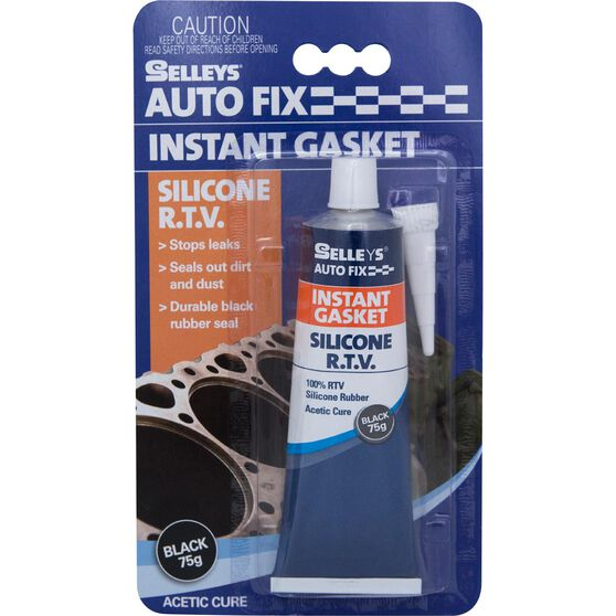 Selleys Autofix - Instant Gasket, Black, 75g, , scanz_hi-res