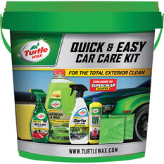Turtle Wax Quick & Easy Car Care Kit - 8pce, , scanz_hi-res