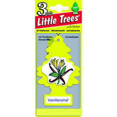 Little Trees Air Freshener - Vanillaroma 3 Pack, , scanz_hi-res
