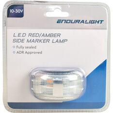 Side Marker - LED, Red / Amber, 10-30V, , scanz_hi-res