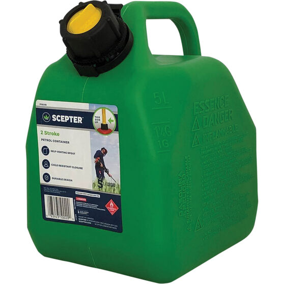 Jerry Can - 2 Stroke - 5 Litre, , scanz_hi-res