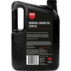 SCA Mineral Engine Oil 20W-50 5 Litre, , scanz_hi-res