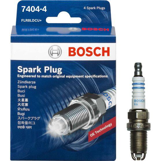 Bosch Spark Plug - 7404-4, 4 Pack, , scanz_hi-res