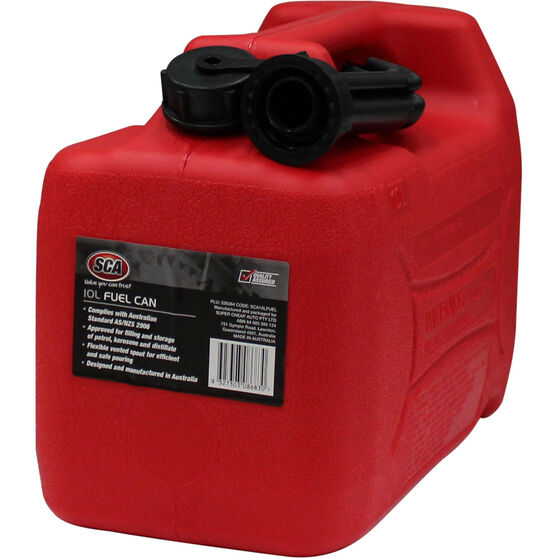 Jerry Can - Petrol, 10 Litre, , scanz_hi-res
