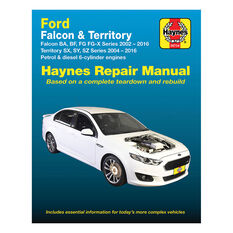 Haynes Car Manual For Ford Falcon / Territory 2002-2016 - 36734, , scanz_hi-res