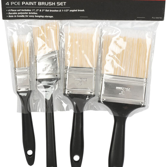 SCA Paint Brush Set - 4 Pieces, , scanz_hi-res