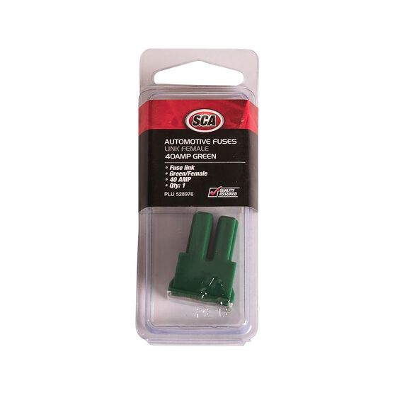 SCA Fuse Link, Female - Green, 40 AMP, , scanz_hi-res