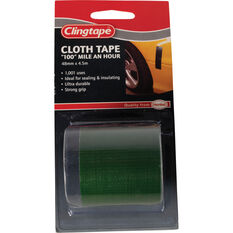 Clingtape Cloth Tape - Green, 48mm x 4.5m, , scanz_hi-res