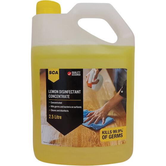 SCA Lemon Disinfectant Concentrate 2.5L, , scanz_hi-res